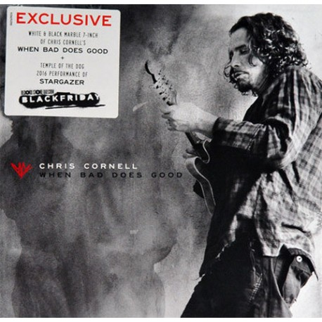 SP Chris Cornell: When Bad Does Good (Limited Edition, White & Black Marble)