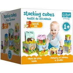 Baby toronyépítő kocka - Az erdőben