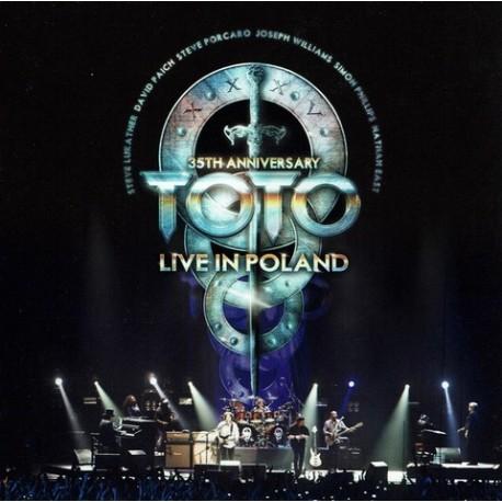 CD Toto: 35th Anniversary - Live In Poland (2CD)