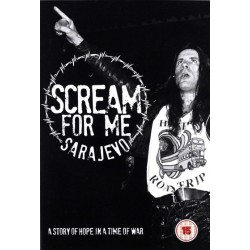 DVD Bruce Dickinson: Scream For Me Sarajevo - A Story Of Hope In A Time Of War