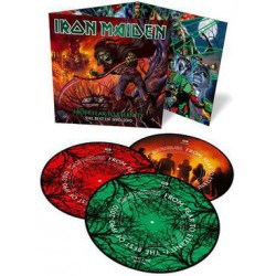 LP Iron Maiden: From Fear To Eternity - The Best Of 1990-2010 (Limited Edition Collector's 3LP Picture Disc Edition)