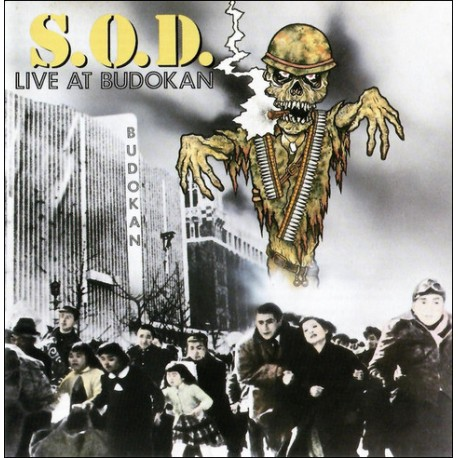 CD S.O.D. (Stormtroopers Of Death): Live At Budokan
