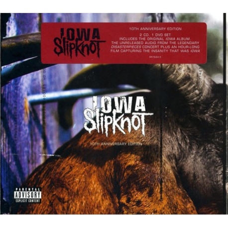 CD Slipknot: Iowa (10th Anniversary 2CD+DVD Digipak Edition)