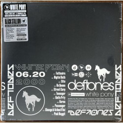 LP Deftones: White Pony (Limited 20th Anniversary Edition 4LP Box with Black Stallion album with Exclusive Litograph)