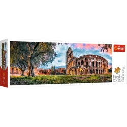 Colosseum hajnalban panoráma puzzle 1000 darabos
