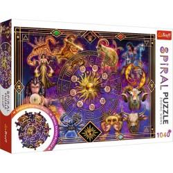 Csillagjegyek spirál puzzle 1040 darabos
