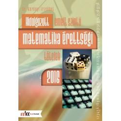 Kidolgozott emelt szintű matematika érettségi tételek 2016