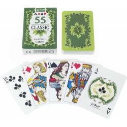 Klasszikus francia kártya (zöld)