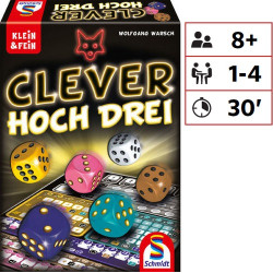 Clever hoch Drei (Twice as clever)