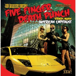 CD Five Finger Death Punch: American Capitalist (Deluxe Edition)