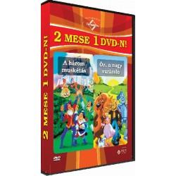DVD A három muskétás / Óz, a nagy varázsló