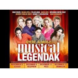 CD Gyere álmodj! Musical legendák