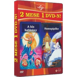 DVD A kis hableány / Hamupipőke