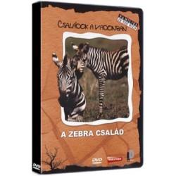 DVD Családok a vadonban: A zebra család