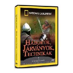 DVD Háborúk, járványok, technikák