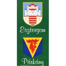 Esztergom - Párkány térkép