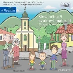 CD Slovenčina 5. zvukový materiál