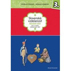 Slovenská vzdelanost - Pracovný zošit pre 3. rocník všeobecných škôl
