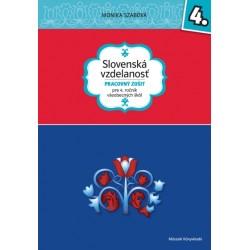 Slovenská vzdelanost - Pracovný zošit pre 4. rocník všeobecných škôl