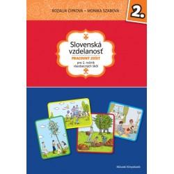 Slovenská vzdelanost - Pracovný zošit pre 2. rocník všeobecných škôl
