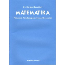 Matematika témazáró feladatlapok 8.