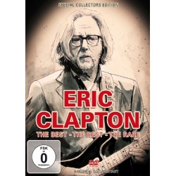 DVD Eric Clapton: The Best - The Rest - The Rare