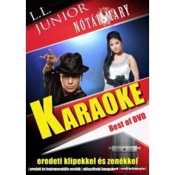 DVD L. L. Junior és Nótár Mary Karaoke DVD