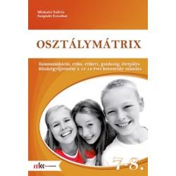 Osztálymátrix 7-8. - Kommunikáció, etika, etikett, gazdaság, életpálya  feladatgyűjtemény