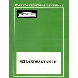 Szilárdságtan III.
