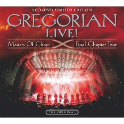 CD Gregorian: Live! Masters Of Chant Final Chapter Tour (2CD+DVD Limited Edition)