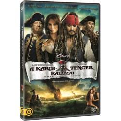 DVD A Karib-tenger kalózai - Ismeretlen vizeken