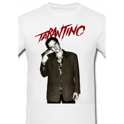 Póló Quentin Tarantino - Férfi L méret (Fehér)
